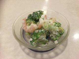 はま寿司 海老ブロッコリーサラダ