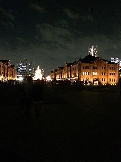 赤レンガ倉庫 夜景