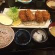 地蔵 牡蠣フライとヒレカツ定食