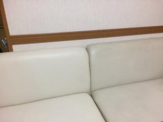 白ソファ掃除ビフォーアフター