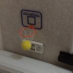 お風呂で遊べるバスケットボールのオモチャが意外とハマる
