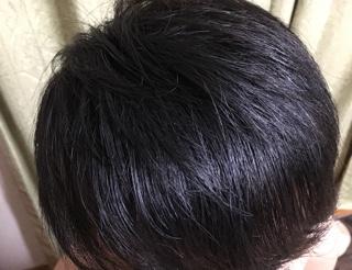 髪 黒染め