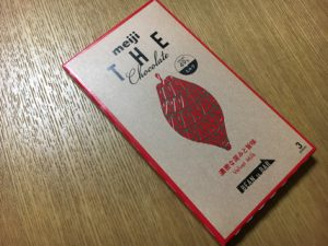meiji THE Chocolate ベルベットミルク