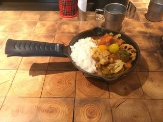 camp 一日分の野菜カレー