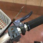自分でミニサイクルの修理!前輪のブレーキワイヤーを交換する